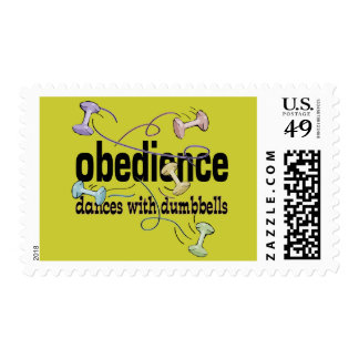 Obedience: Dances with Dumbbells Stamp