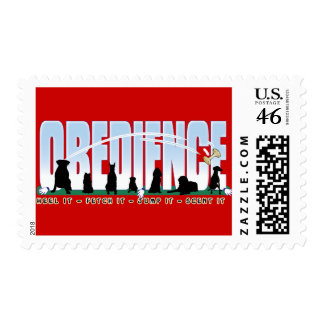 Obedience Heel it Fetch It Jump It Scent It Stamp
