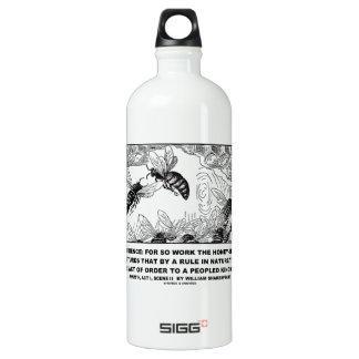Obedience Work Honey-Bees Henry V Shakespeare SIGG Traveler 1.0L Water Bottle