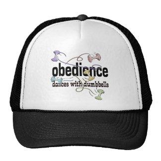 Obediencia: Danzas con pesas de gimnasia Gorras
