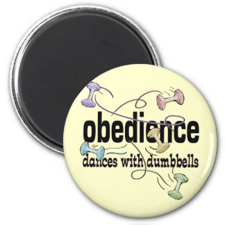 Obediencia: Danzas con pesas de gimnasia Iman De Frigorífico