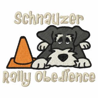 Obediencia de la reunión del Schnauzer