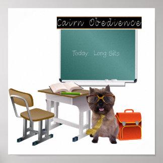 Obediencia de Terrier de mojón Impresiones