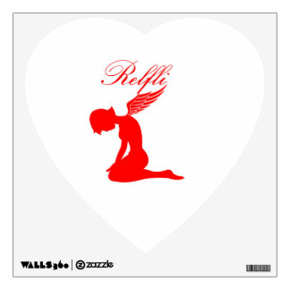 Obedient Angel Wall Decal