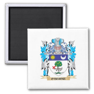 O'Beirne Coat of Arms - Family Crest Refrigerator Magnets