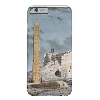 Obelisco de Cleopatra (w/c en el papel) Funda De iPhone 6 Barely There