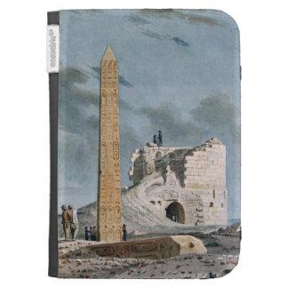 Obelisco de Cleopatra (w/c en el papel)