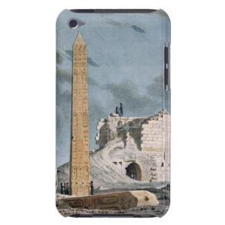 Obelisco de Cleopatra (w/c en el papel) iPod Touch Fundas