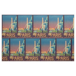 Obelisco de la fuente de la noche de París Francia Telas
