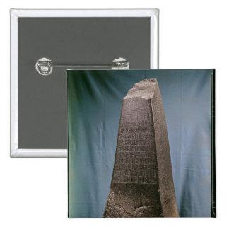 Obelisco de Manishtusu de Susa, c.2270 A.C. Pin Cuadrado