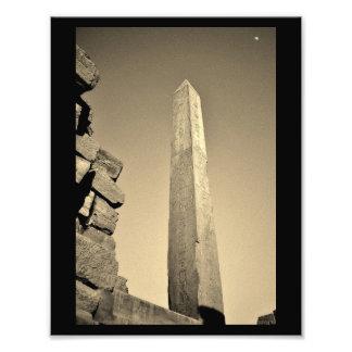 Obelisco del templo de Karnak Fotografías
