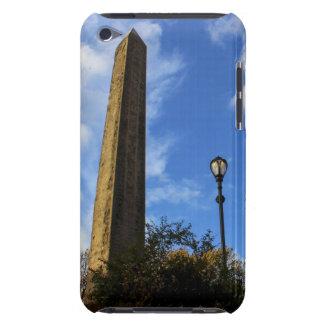 Obelisco la aguja en Central Park NYC de Cleopat iPod Case-Mate Cobertura