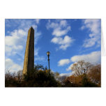 Obelisco, la aguja en Central Park, NYC de Cleopat Tarjeta Pequeña