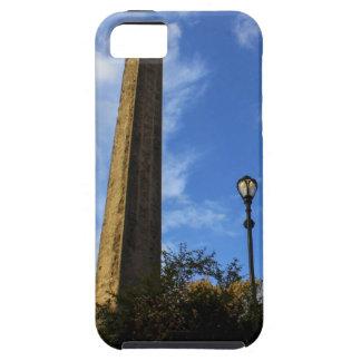 Obelisco, la aguja en Central Park, NYC de iPhone 5 Cárcasa
