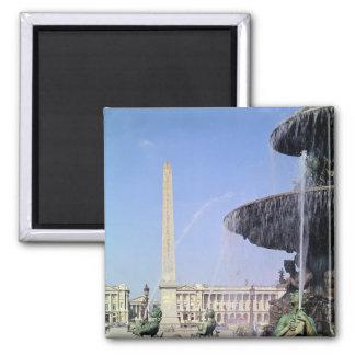 Obelisco, originalmente de Luxor, erigido en 1836 Imán Cuadrado