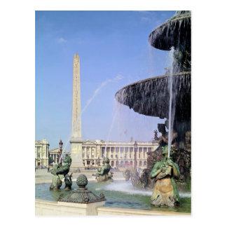 Obelisco, originalmente de Luxor, erigido en 1836 Postal