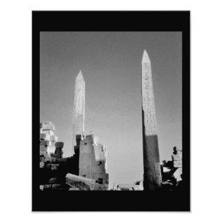 Obeliscos del templo de Karnak Fotografías