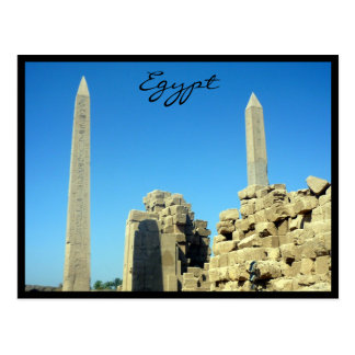 obeliscos Egipto del karnak Tarjetas Postales