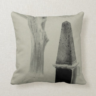 Obelisk Cemetery Pillow