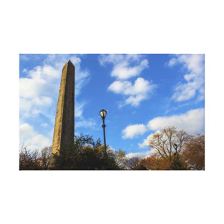 Obelisk, Cleopatra's Needle in Central Park, NYC Canvas Print