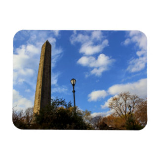 Obelisk, Cleopatra's Needle in Central Park, NYC Flexible Magnet