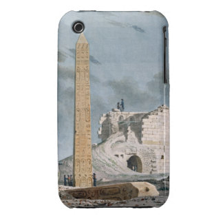 Obelisk of Cleopatra (w/c on paper) Case-Mate iPhone 3 Cases