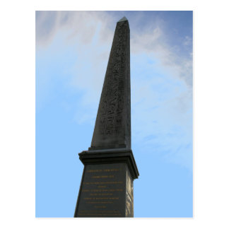 Obelisk of Luxor Postcard