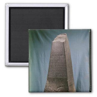 Obelisk of Manishtusu  from Susa, c.2270 BC Magnet