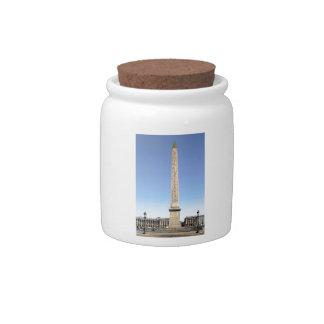 Obelisk of Paris Candy Jar