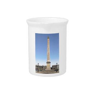 Obelisk of Paris Beverage Pitcher
