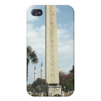 Obelisk of Theodosius I, with a Roman base iPhone 4/4S Case