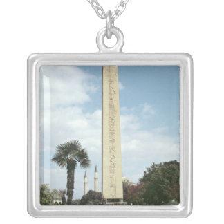 Obelisk of Theodosius I, with a Roman base Custom Jewelry