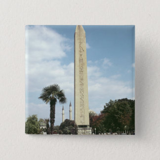 Obelisk of Theodosius I, with a Roman base Pinback Button