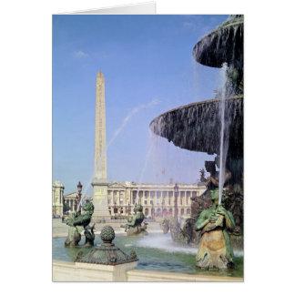 Obelisk, originally from Luxor, erected in 1836 Greeting Cards