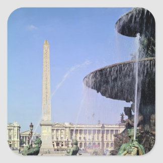 Obelisk, originally from Luxor, erected in 1836 Square Sticker