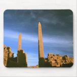 Obelisks at Luxor Mouse Pad