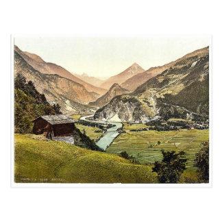 Ober-innthal from Schrofenstein, Tyrol, Austria ma Postcard