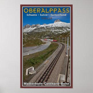 Oberalppass Poster