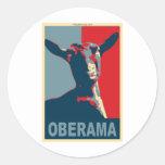 Oberama Classic Round Sticker