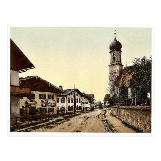 Oberammergau, visión general, Baviera superior, Postales
