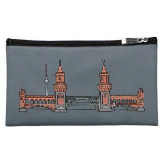 Oberbaumbrücke in Berlin Cosmetic Bag