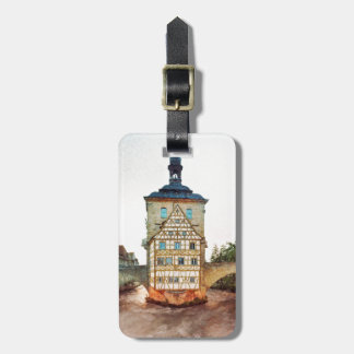 Obere Bridge in Bamberg Bag Tag