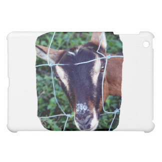 Oberhasli Alpine Doe through fence Cover For The iPad Mini