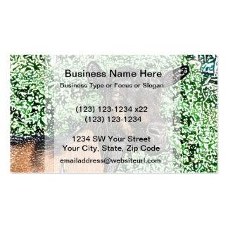 oberhasli doe goat animal image business card