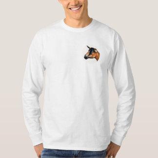 Oberhasli Goat Art Shirt