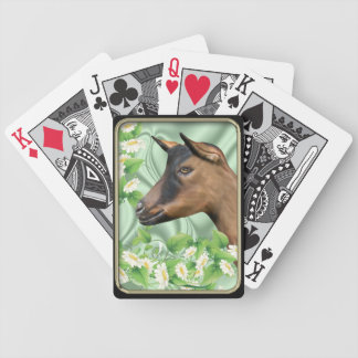 Oberhasli Goat Bicycle Playing Cards