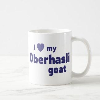 Oberhasli goat coffee mug