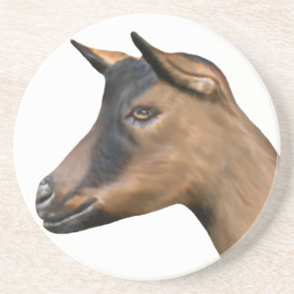 Oberhasli Goat Sandstone Coaster