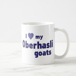 Oberhasli goats coffee mug