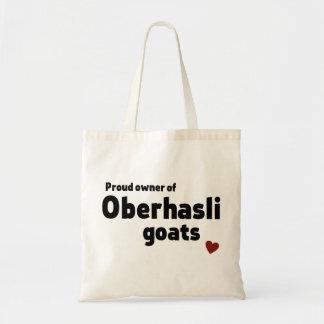 Oberhasli goats tote bag